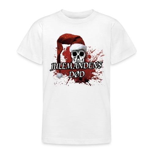 JULEMANDENS DØD 1 - Teenager-T-shirt