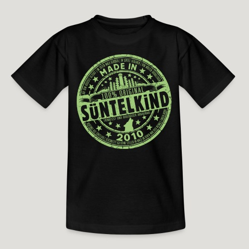 SÜNTELKIND 2010 - Das Süntel Shirt mit Süntelturm - Teenager T-Shirt