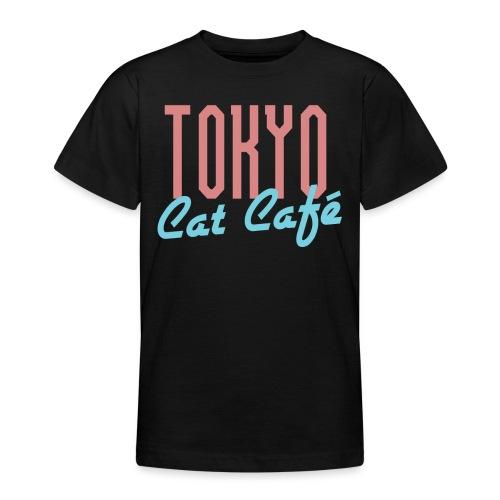 Tokyo Katzen Café Hobby Katze Haustiere - Teenager T-Shirt