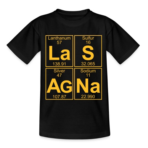 La-S-Ag-Na (lasagna) - Full - Teenage T-Shirt