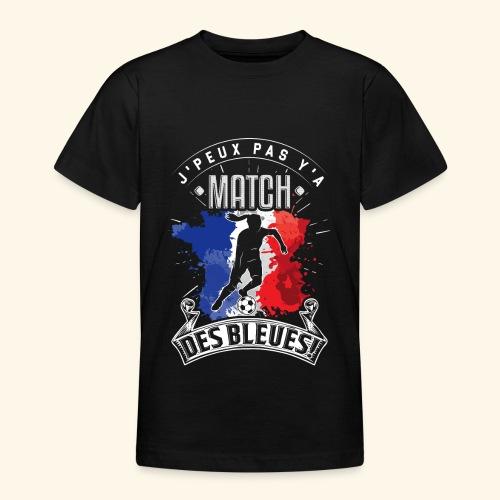 Les Bleues FOOTBALLEUSE - Equipe de France féminin - T-shirt Ado