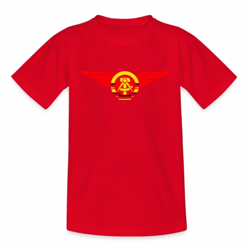 GDR flames crest 3c - Teenage T-Shirt