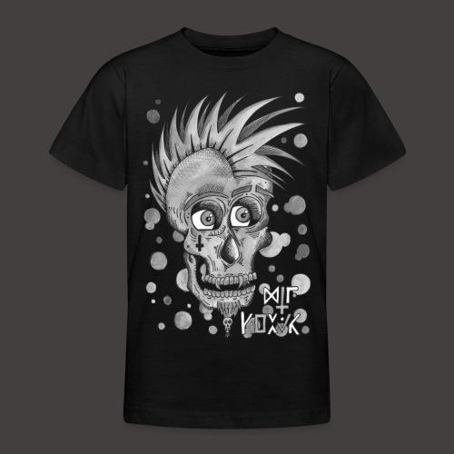 Autoportrait Noir et Blanc - T-shirt Ado