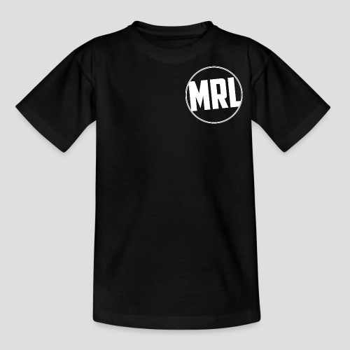 Logo Wit png - Teenager T-shirt