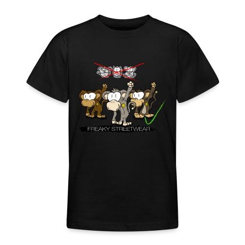 Protest-Äffchen 2 - Teenager T-Shirt