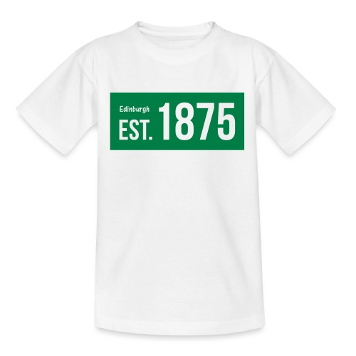 EST. 1875 Hibs - Teenage T-Shirt