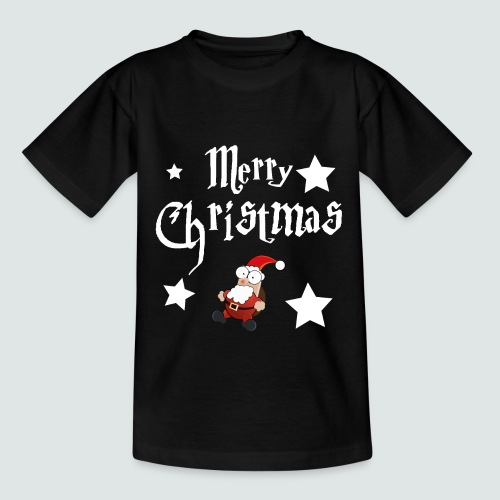 Merry Christmas - Ugly Christmas Sweater - Teenager T-Shirt