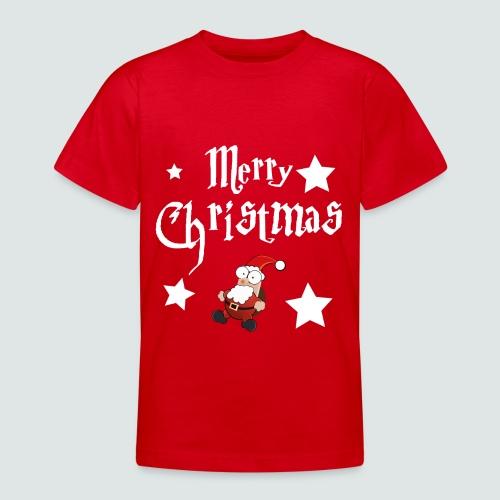 Merry Christmas - Ugly Christmas Sweater - Teenager T-Shirt