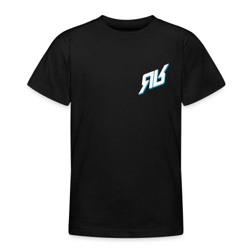 rrlogo bluewhite - Teenager T-Shirt