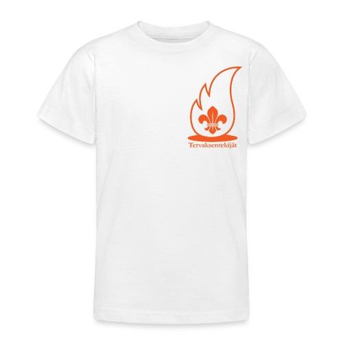 Terte oranssi 1 - Nuorten t-paita