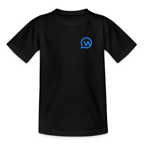 Whatsgrappend BLUE - Teenager T-shirt