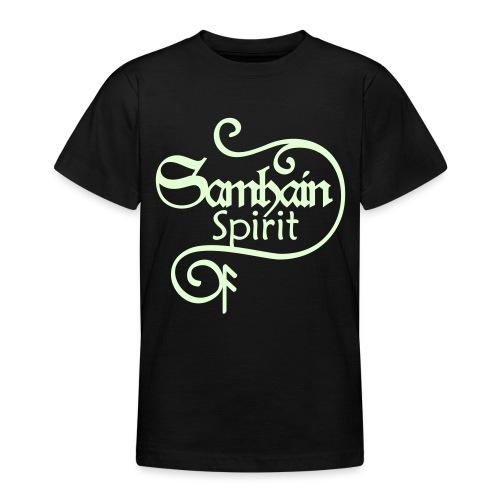 SAMHAIN SPIRIT mit Rune ANSUZ - Teenager T-Shirt