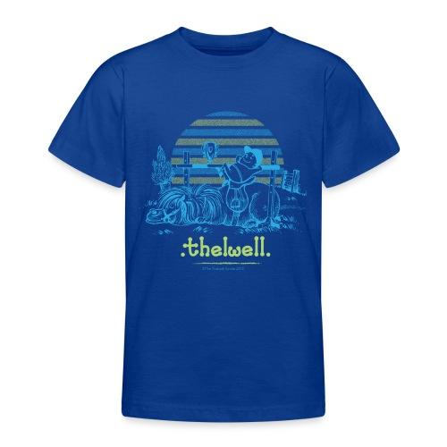 Thelwell Cartoon Pony Sieg - Teenager T-Shirt