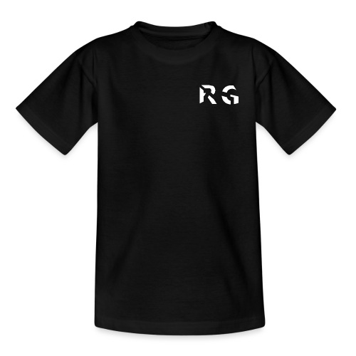 RG Wit Logo - Teenage T-Shirt