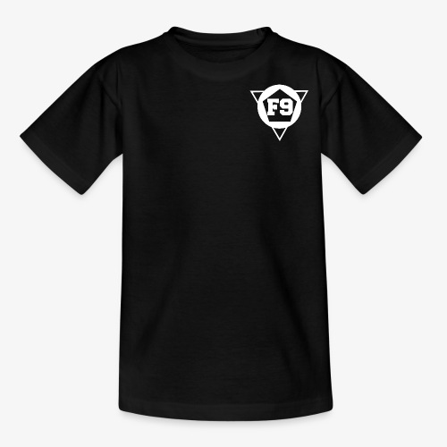 False 9 official logo white png - Teenage T-Shirt