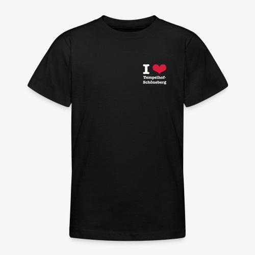 I love Tempelhof-Schöneberg - Teenager T-Shirt