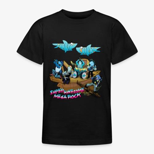 SUPER AWESOME MEGA ROCK - Teenage T-Shirt