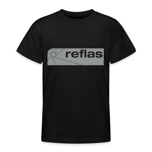 Reflas Clothing Black/Gray - Maglietta per ragazzi