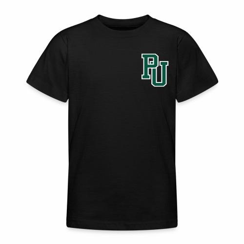 PU initialen - Teenager T-shirt