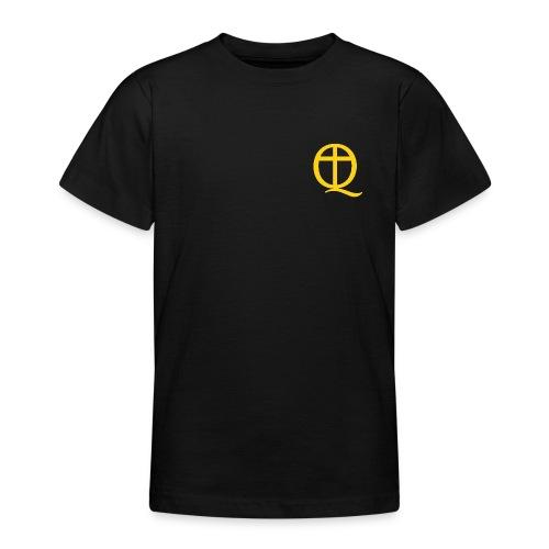 QC Gul - T-shirt tonåring