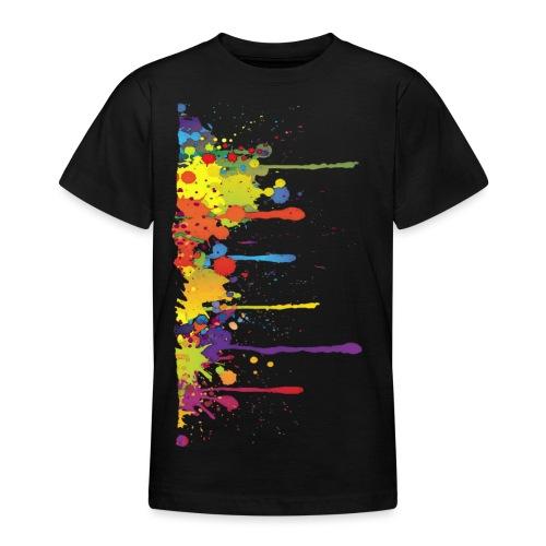 Klecks Malerei / Splat Painting - Teenager T-Shirt