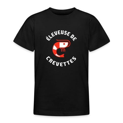 ÉLEVEUSE DE CREVETTES CRS - T-shirt Ado