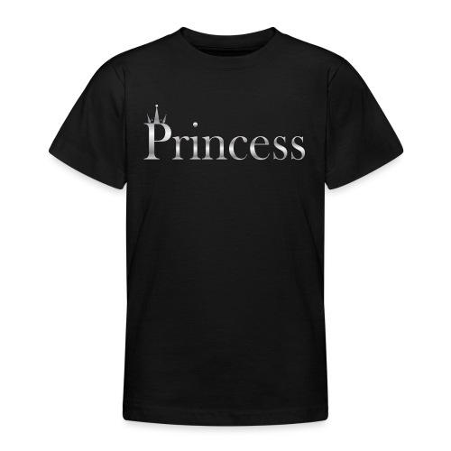 Princess silver - T-skjorte for tenåringer