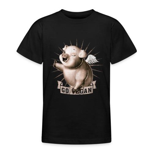 Go Vegan - T-shirt Ado