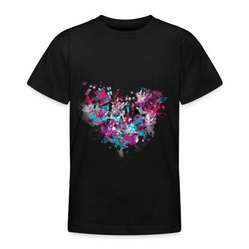 Love with Heart - Teenage T-Shirt