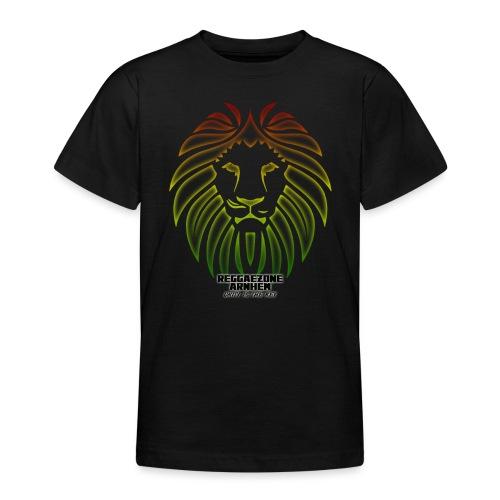 reggaezone lion TSHIRTONTWERP1 png - Teenager T-shirt