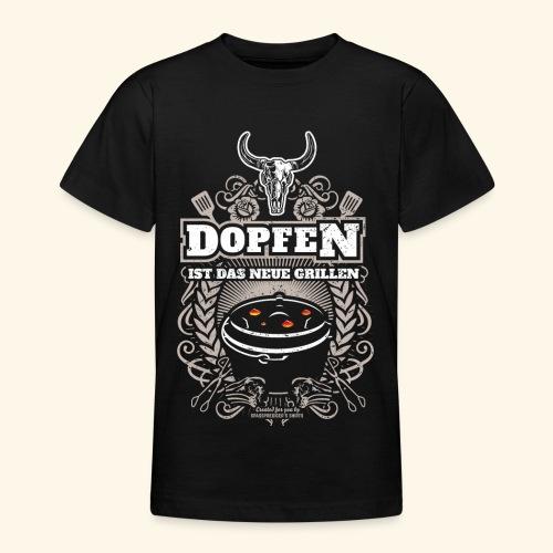 Dutch Oven T Shirt Dopfen ist das neue Grillen - Teenager T-Shirt