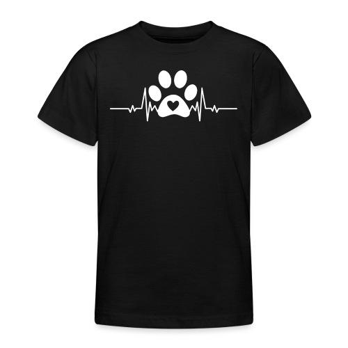 Fingerprint the dog - Camiseta adolescente