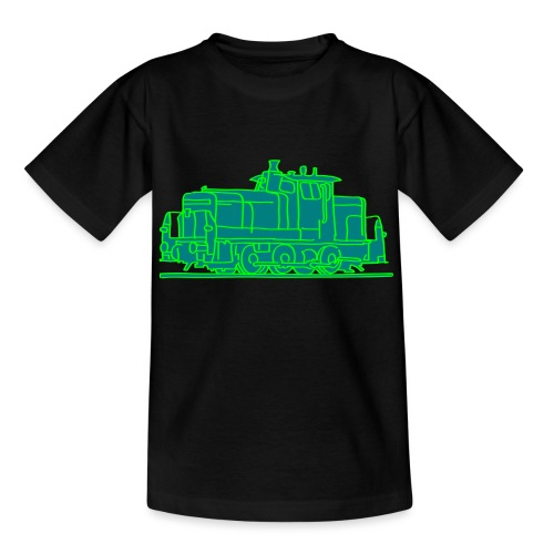 Diesel-Lokomotive 2 - Teenager T-Shirt