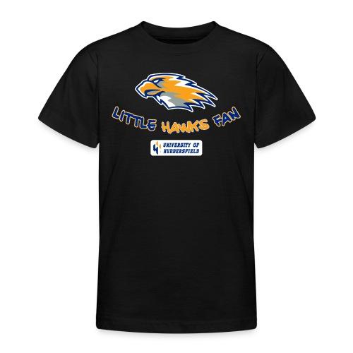 little hawks fan chest print - Teenage T-Shirt