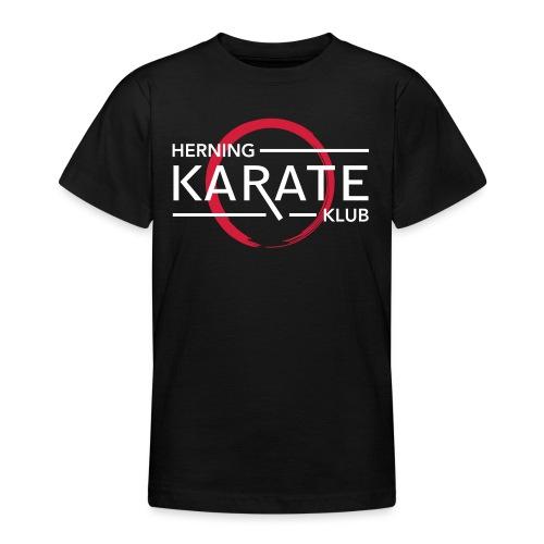 HKK Hvid - Teenager-T-shirt
