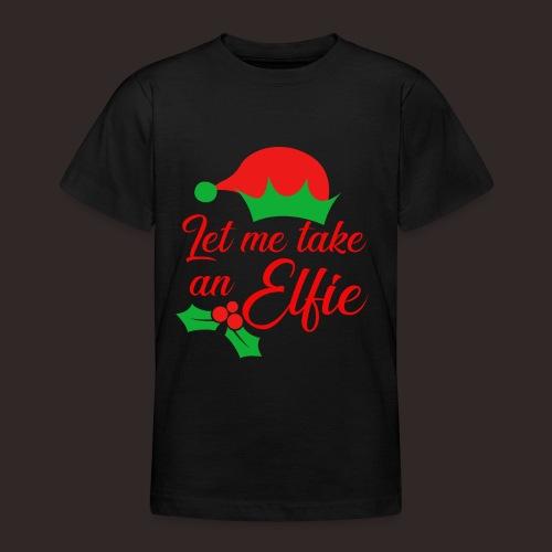 Weihnachten | Elf Mütze Weihnachtself Wortspiel - Teenager T-Shirt