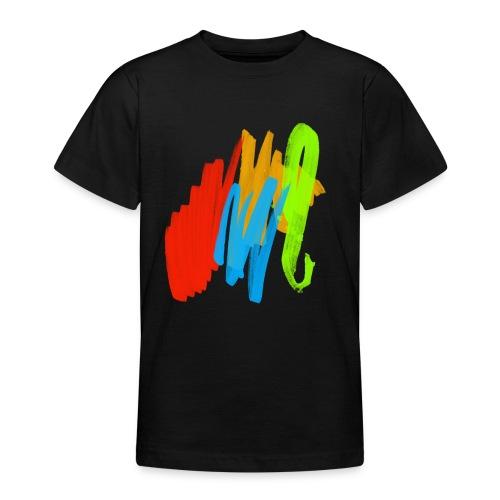 Farbspiel - Teenager T-Shirt