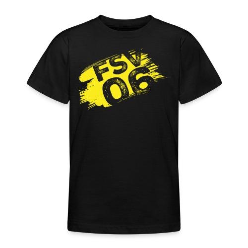 Hildburghausen FSV 06 Graffiti gelb - Teenager T-Shirt