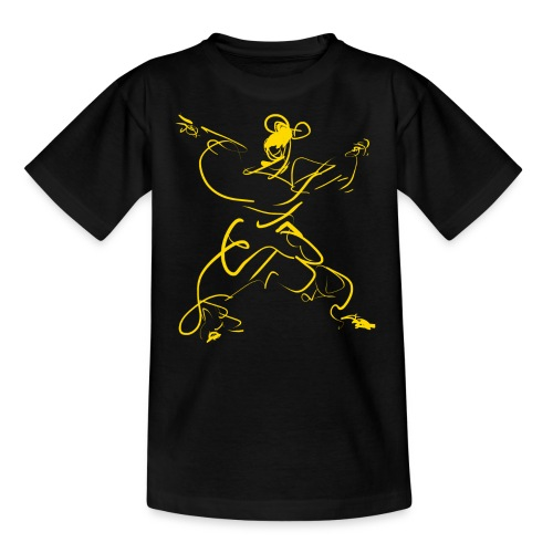 Kungfu figure - Teenage T-Shirt