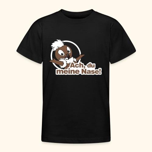 Pittiplatsch Ach, du meine Nase 2D - Teenager T-Shirt