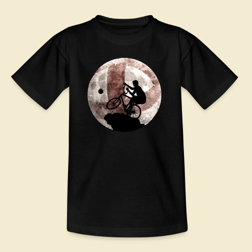 Radball | Cycle Ball Moon - Teenager T-Shirt