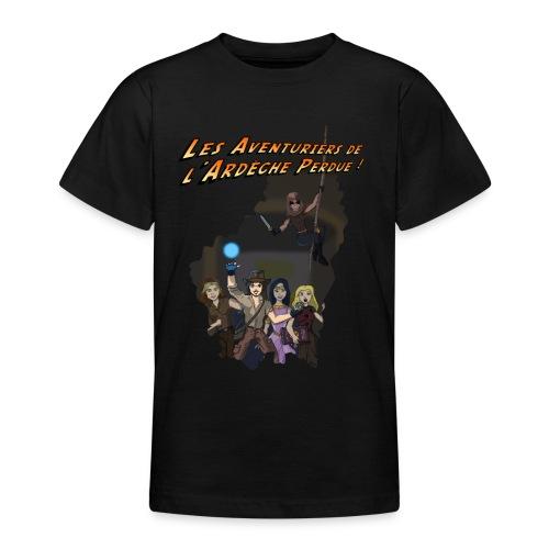 Les Aventuriers de l'Ardèche Perdue - T-shirt Ado