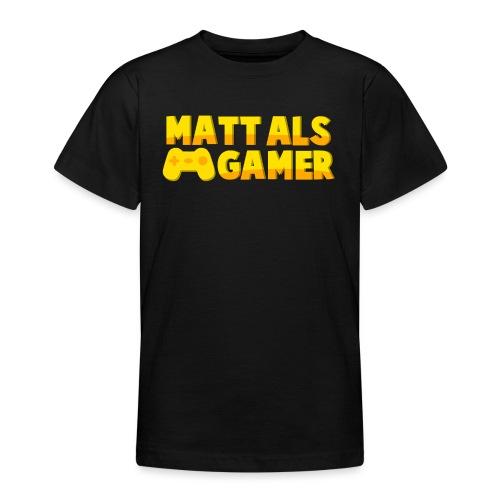 Matt Als Gamer Logo - Teenager T-shirt