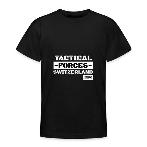 TFS Black and White stencil - T-shirt Ado