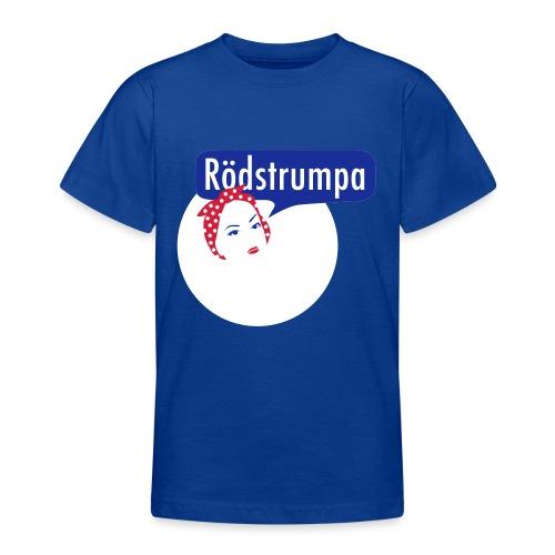 RÖDSTRUMPA 2 - T-shirt tonåring