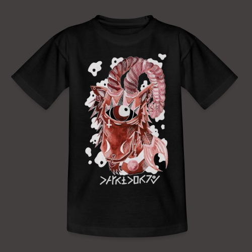 capricorne Négutif - T-shirt Ado