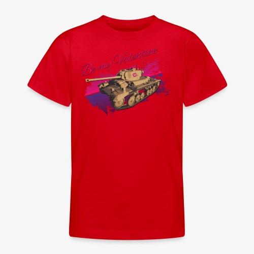 Be my Valentine Tank - Teenager T-Shirt