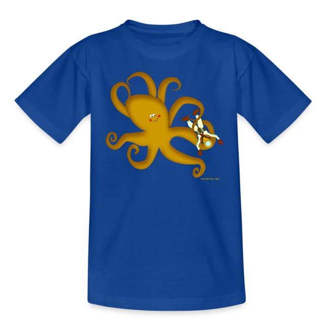 Giant Octopus Diver