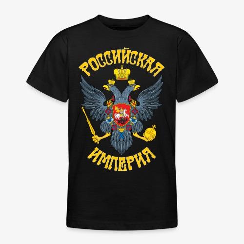 Wappen des Russischen Imperiums Russland - Teenager T-Shirt