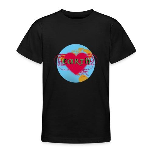 earth love - Teenager T-Shirt